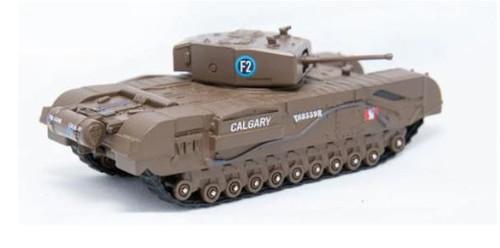 76CHT002 OO CHURCHILL TANK MKIII 1ST CANADIAN ARMY (CALGARY)