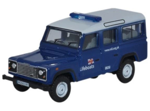 76DEF014 OO LAND ROVER DEFENDER STATION WAGON RNLI