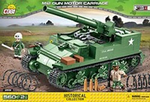 COBI-2531 M12 GUN MOTOR CARRIAGE (560 PIECES)