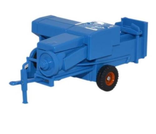 76FARM006 OO BALER BLUE