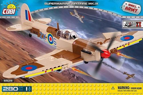 COBI-5525 SUPERMARINE SPITFIRE (280 PIECES)