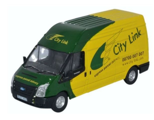 76FT025 OO FORD TRANSIT LWB HIGH ROOF CITY LINK