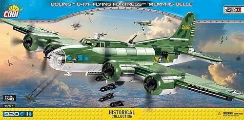 COBI-5707 BOEING B17-F FLYING FORTRESS MEMPHIS BELLE (920 PIECES)