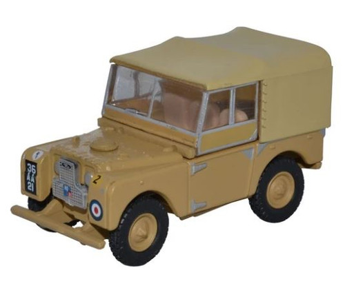 76LAN180008 OO LAND ROVER SERIES 1 80 CANVAS 34TH LIGHT AA