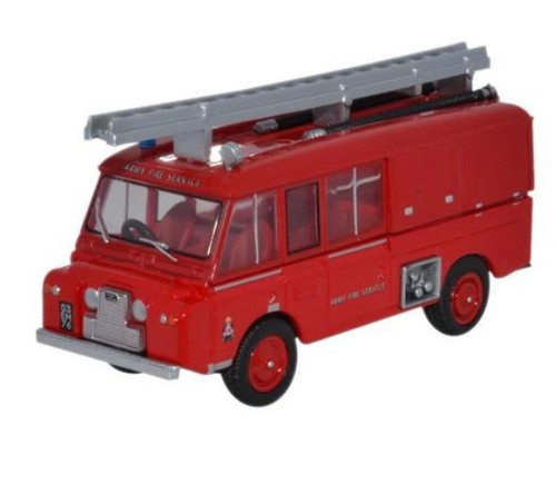 76LRC004 OO LAND ROVER FT6 CARMICHAEL ARMY FIRE SERVICE