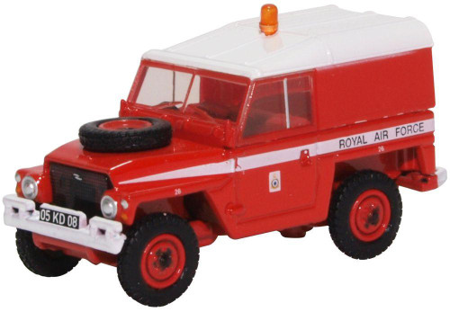 76LRL003 OO LAND ROVER 1/2 TON LIGHTWEIGHT RAF RED ARROWS