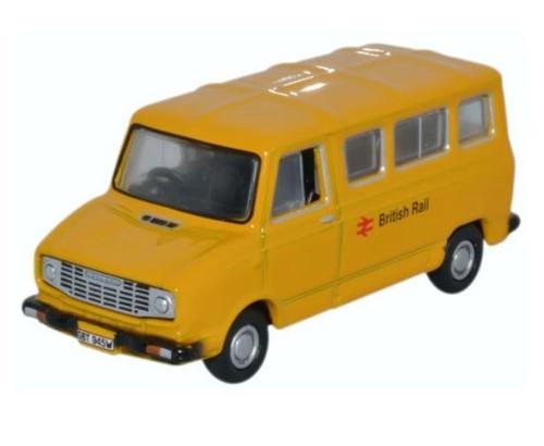 76SHP002 OO SHERPA MINIBUS BRITISH RAIL YELLOW