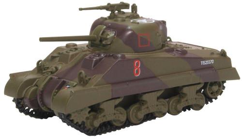 76SM003 OO SHERMAN MKIII T1525570 18 ARM REG 4TH NA ARM BRG ITALY '44