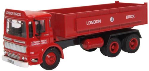 76TIP005 OO AEC ERGOMATIC TIPPER LONDON BRICK COMPANY