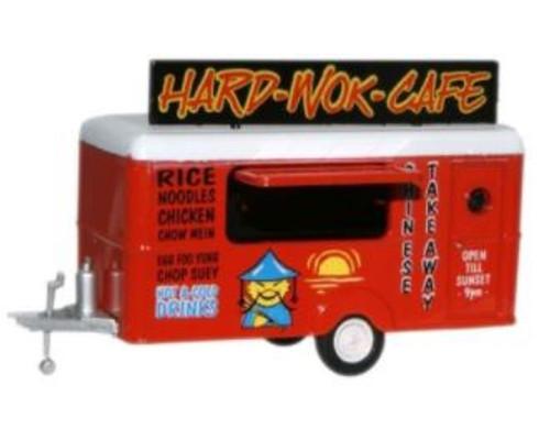 76TR007 OO MOBILE TRAILER- HARD WOK CAFE
