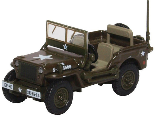 76WMB003 OO WILLYS MB JEEP US ARMY