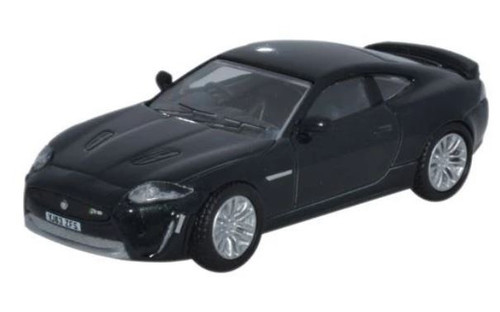 76XKR004 OO JAGUAR XKR-S COUPE ULTIMATE BLACK