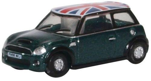 NNMN005 N NEW MINI BRITISH RACING GREEN/UNION JACK