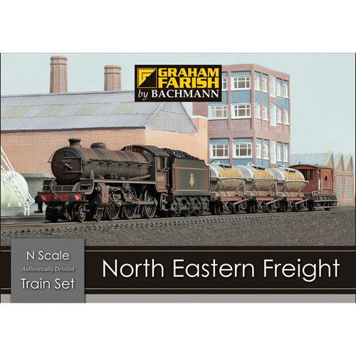 370-090 N NORTH EASTERN FREIGHT TRAIN SET