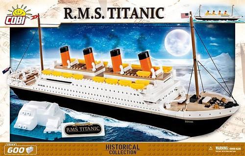 COBI-1914A RMS TITANIC (600 PIECES)