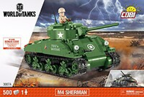 COBI-3007A M4 SHERMAN (500 PIECES)