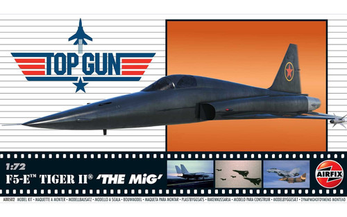 A00502 1/72 TOP GUN F5-E TIGER II THE MIG PLASTIC KIT