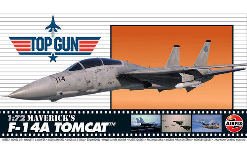 A00503 1/72 TOP GUN MAVERICK'S F-14A TOMCAT PLASTIC KIT
