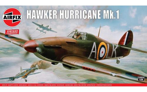 A14002V 1/24 HAWKER HURRICANE MK.1 PLASTIC KIT