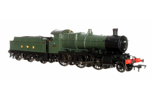 4S-043-003 OO 7301 43XX 2-6-0 GWR GREEN SMOKEBOX NUMBERPLATE
