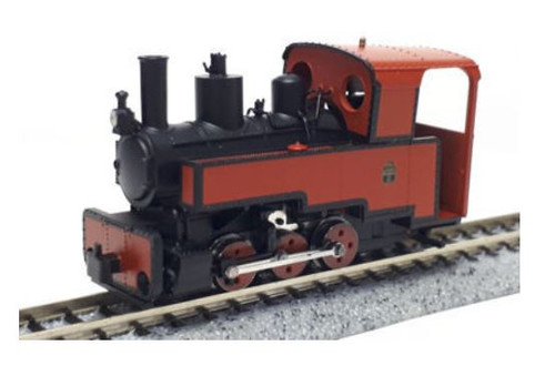 MTR1082 HOE DECAUVILLE 0-6-0T PROGRES RED