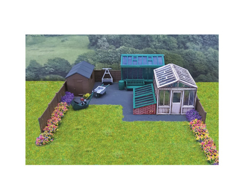 SS92 OO GARDEN BUILDINGS AND ACCESSORIES
