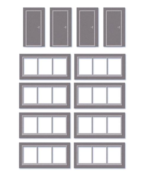 SSM314 OO DOORS AND WINDOWS DETAIL PACK
