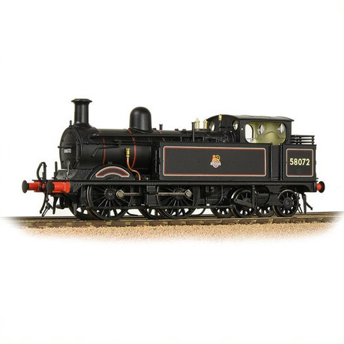 31-742 OO 58072 1532 CLASS 0-4-4T BR LINED BLACK