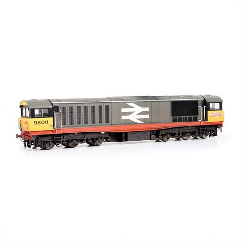 E84005 OO 58011 CLASS 58 BR RAILFREIGHT RED STRIPE (W)