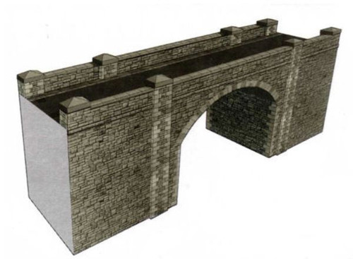 SQA16 OO STONE BRIDGE/TUNNEL CARD KIT