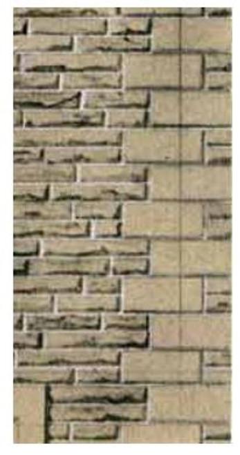 SQD10 OO GREY SANDSTONE WALLING PAPER
