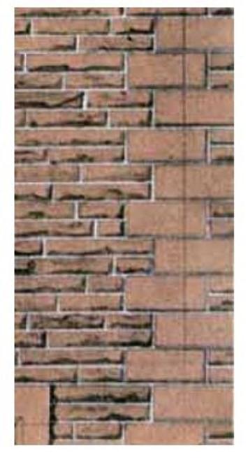 SQD11 OO RED SANDSTONE WALLING PAPER