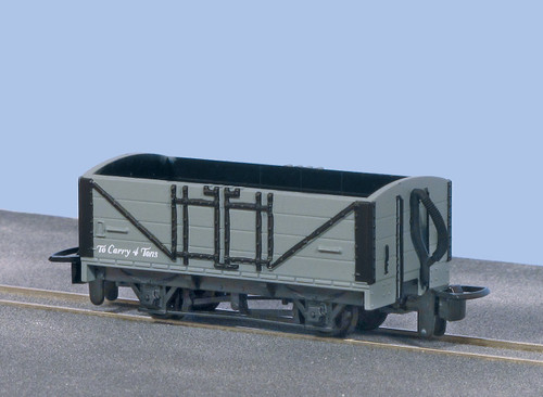GR-200U OO9 OPEN WAGON GREY UNLETTERED
