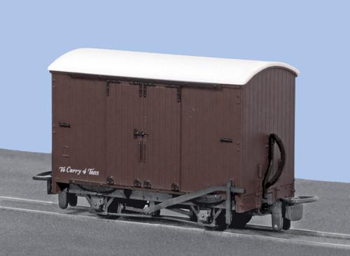 GR-221U OO9 BOX VAN BROWN UNLETTERED