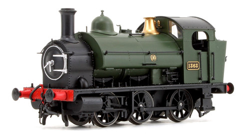 1301 OO 1363 1361 CLASS 0-6-0ST GWR GREEN ROUNDEL