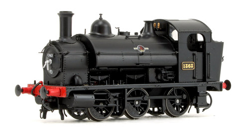 1304 OO 1363 1361 CLASS 0-6-0ST BR BLACK LATE