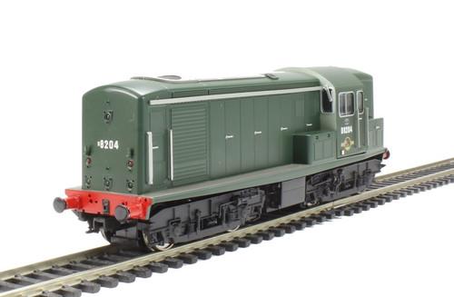 1509 OO D8204 CLASS 15 BR PLAIN GREEN