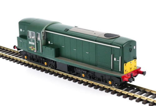 1510 OO D8208 CLASS 15 BR GREEN SMALL YELLOW END