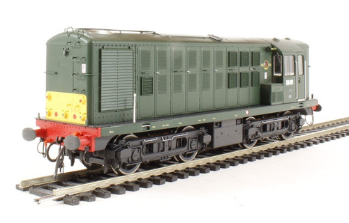 1601 OO CLASS 16 No.D8401 BR GREEN SMALL YELLOW PANEL