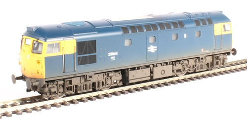 2615 OO 26044 CLASS 26/1 BR BLUE FULL YELLOW WEATHERED