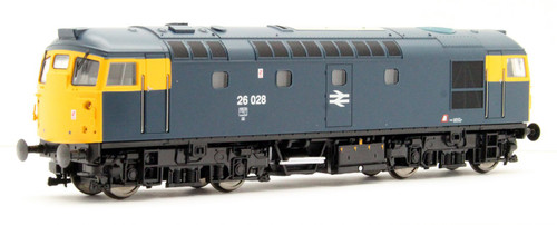2638 OO 26028 CLASS 26/1 BR BLUE FULL YELLOW