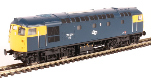 2658 OO 26014 CLASS 26/0 BR BLUE FULL YELLOW