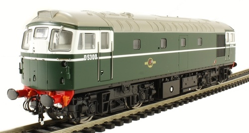 26601 OO D5300 CLASS 26 BR GREEN (SEMI-GLOSS)
