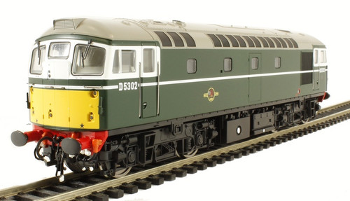 26641 OO D5302 CLASS 26 BR GREEN SMALL YELLOW PANEL
