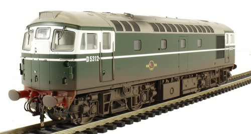 26651 OO D5312 CLASS 26 BR GREEN (WEATHERED)