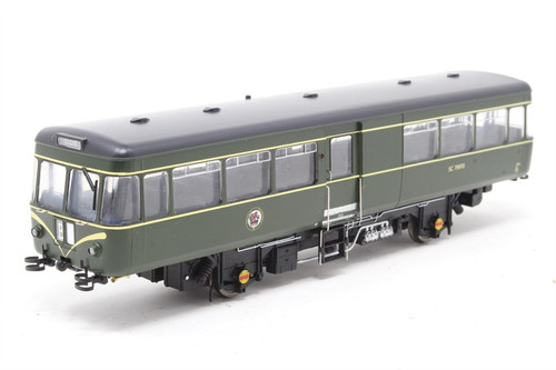 87501 OO SC79770 PARK ROYAL RAILBUS BR GREEN SPEED WHISKERS
