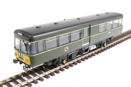 87531 OO M79972 PARK ROYAL RAILBUS BR GREEN SMALL YELLOW PANEL