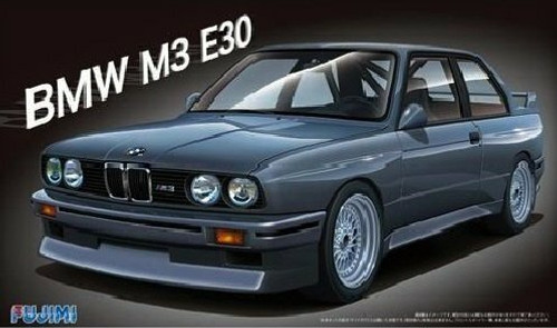 F125725 1/24 BMW E30 PLASTIC KIT