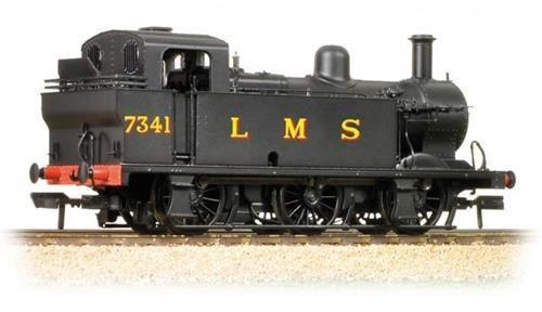 32-227B OO 7341 0-6-0T JINTY LMS BLACK