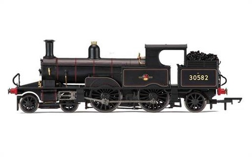 R3334 OO 30582 CLASS 0415 4-4-2T ADAMS RADIAL BR BLACK LATE